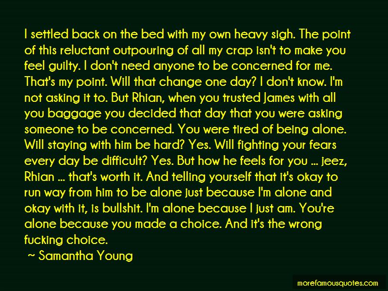Quotes About Fighting Not Being Worth It