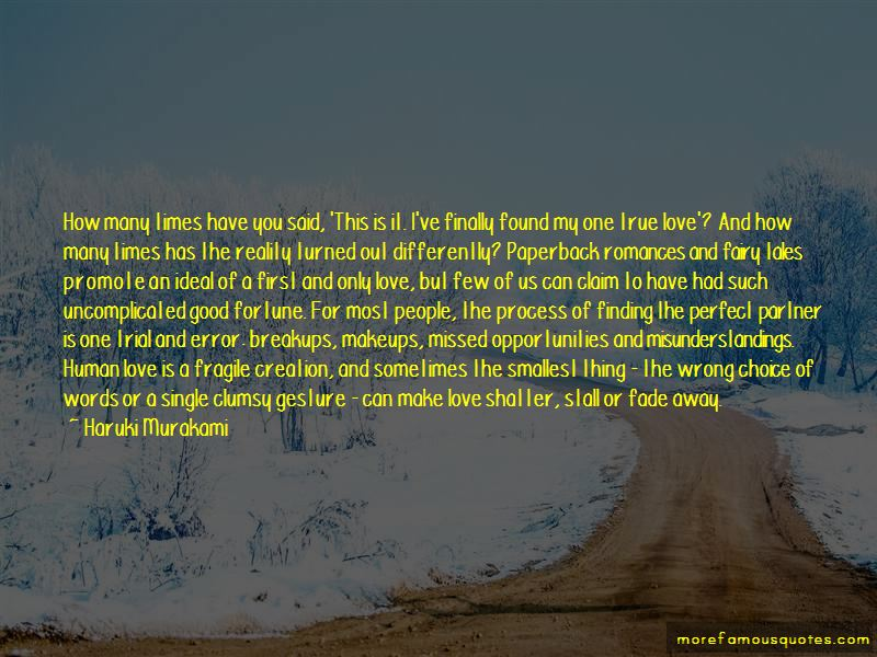 Quotes About Finally Finding True Love