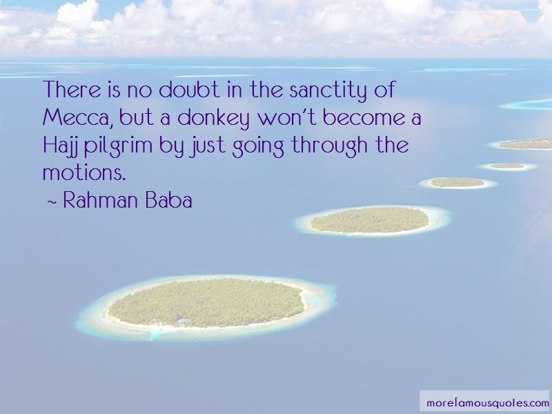 Quotes About Going To Hajj