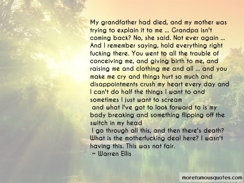 Quotes About Grandpa Death: top 5 Grandpa Death quotes from ...