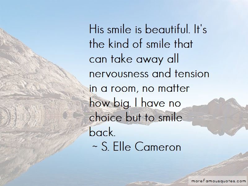 His Beautiful Smile Quotes Pictures 4