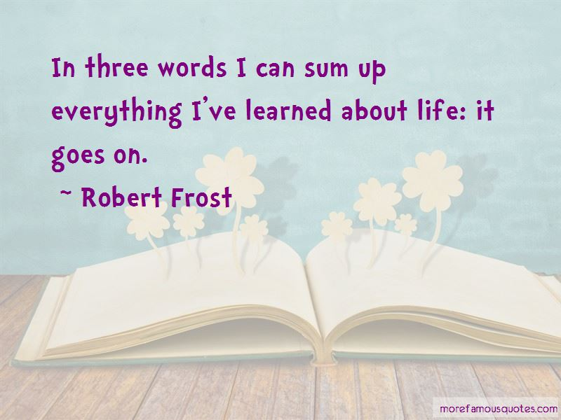 Life It Goes On Quotes Pictures 3