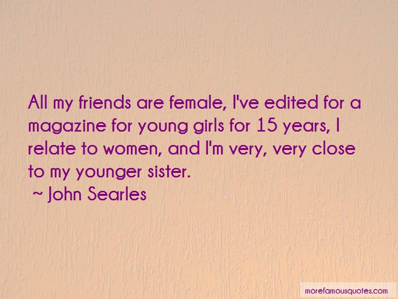 Quotes About My Younger Sister