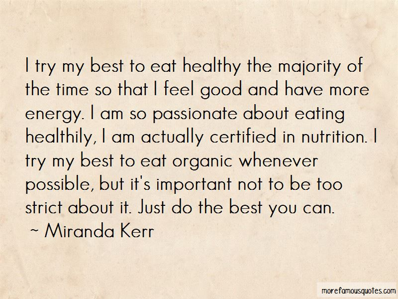 Quotes About Organic Eating