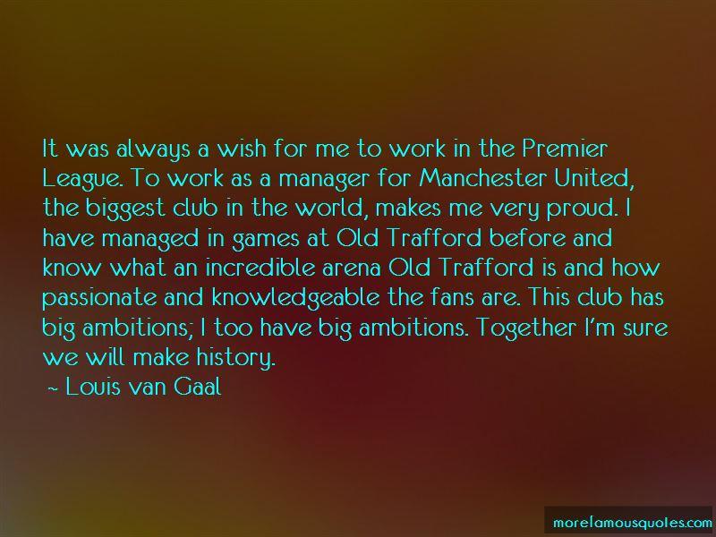 Quotes About Premier League