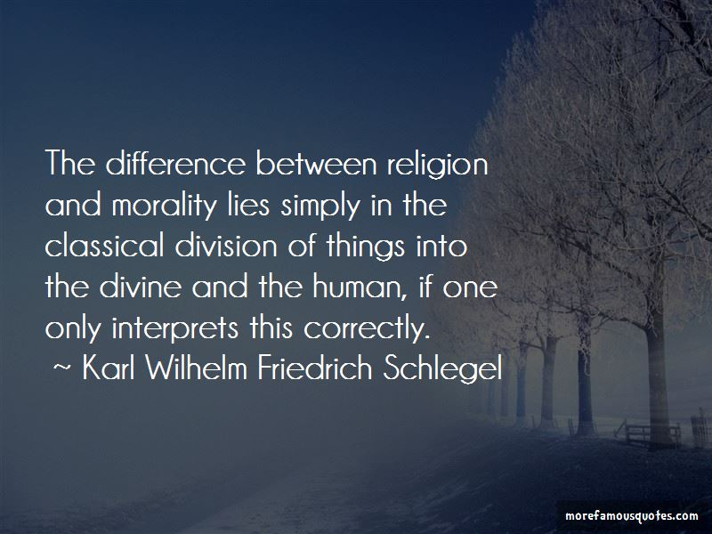 difference between morality and religion Therefore, religion and morality are certainly different one relies on personal attitudes in regards to different variations of behavior, for example, killing, lying, and cheating religion on the other hand, relies on the prayer and worship the connection, if any between social moral code and religion is the question at hand.
