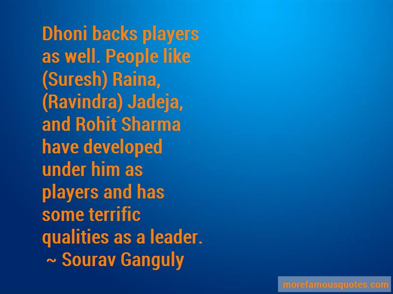 Quotes About Rohit Sharma