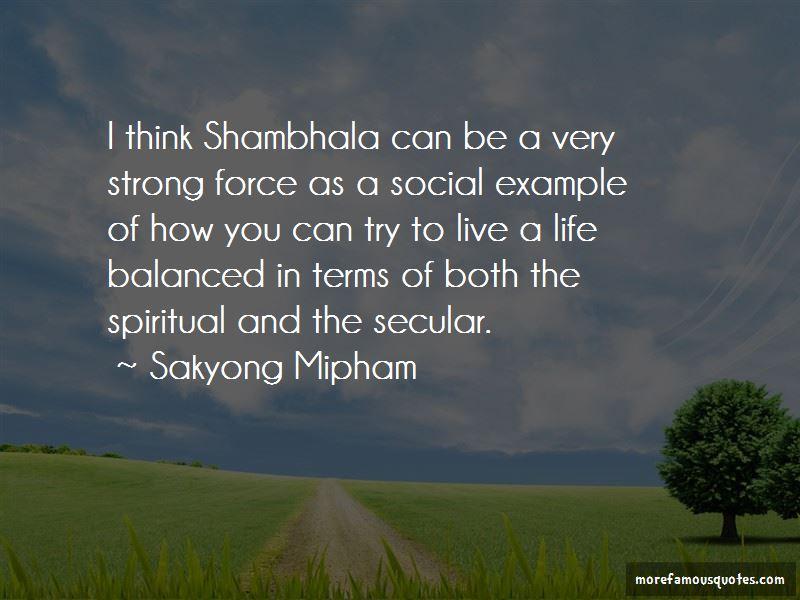 Quotes About Shambhala