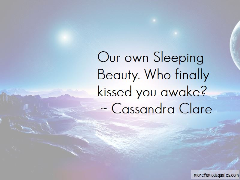 Quotes About Sleeping Beauty