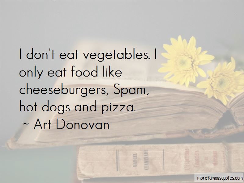 Quotes About Spam Food