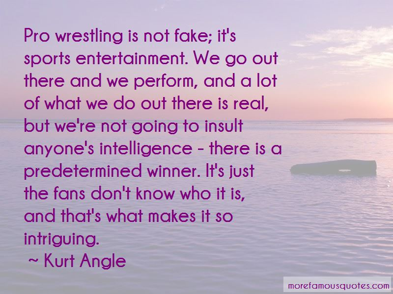 Quotes About Sports Entertainment