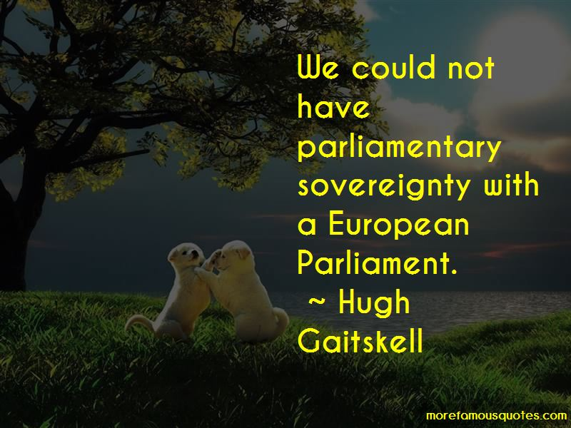Quotes About Uk Parliament