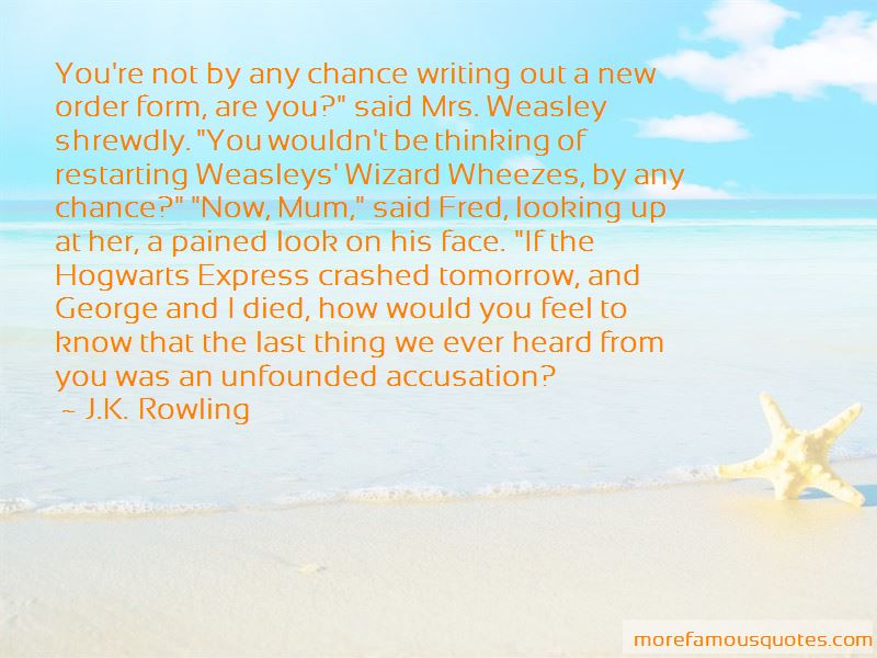 Quotes About Weasleys