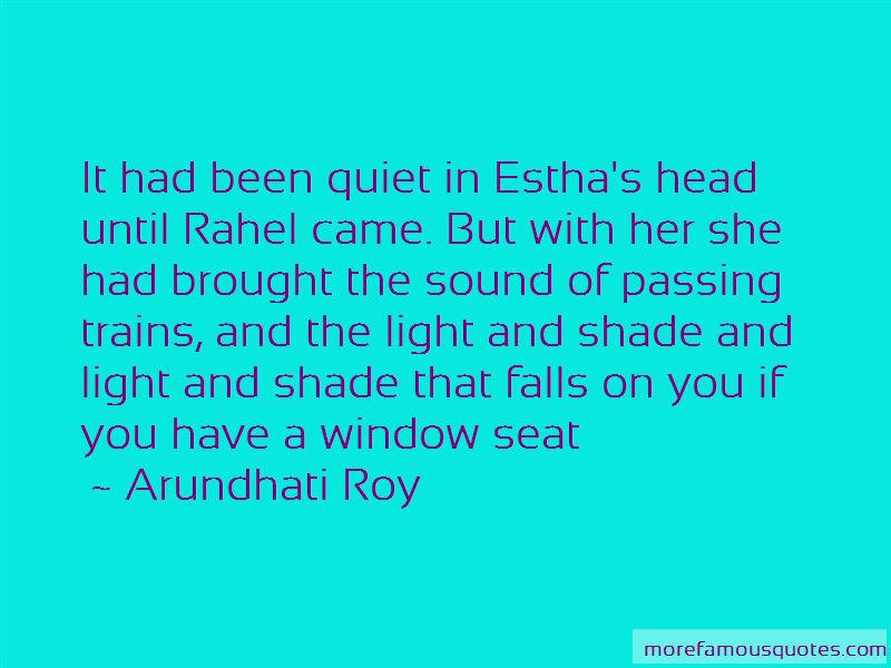 Quotes About Window Seat