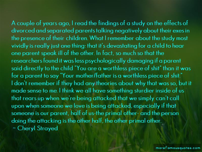 Quotes About Your Parents Being Divorced