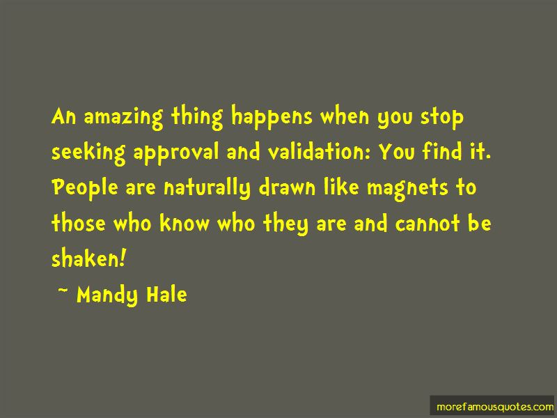 Stop Seeking Approval Quotes