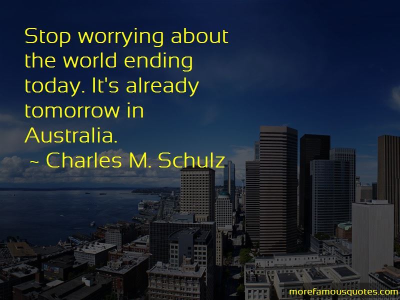Stop Worrying Me Quotes Pictures 4