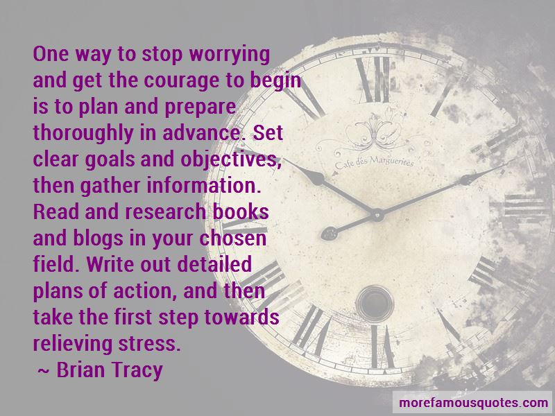 Stop Worrying Me Quotes