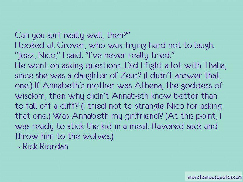 Thalia And Nico Quotes