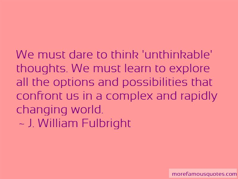 Unthinkable Thoughts Quotes