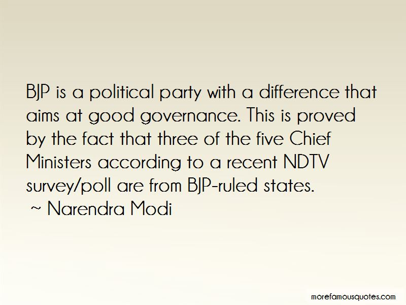 Bjp Political Quotes: top 1 quotes about Bjp Political from