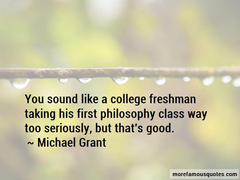 College Freshman Quotes
