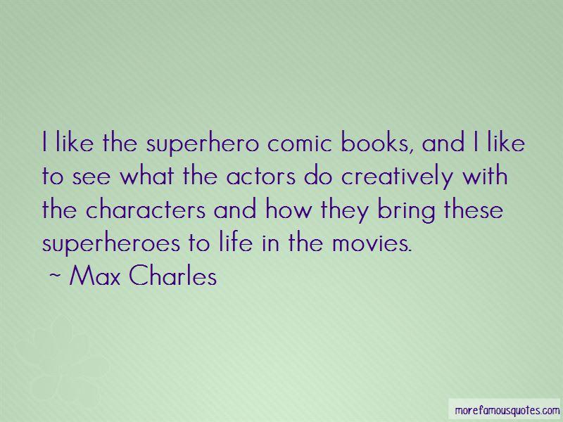 Comic Superheroes Quotes