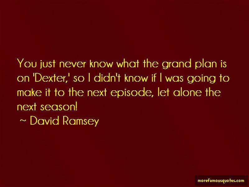 Dexter Season 3 Episode 4 Quotes