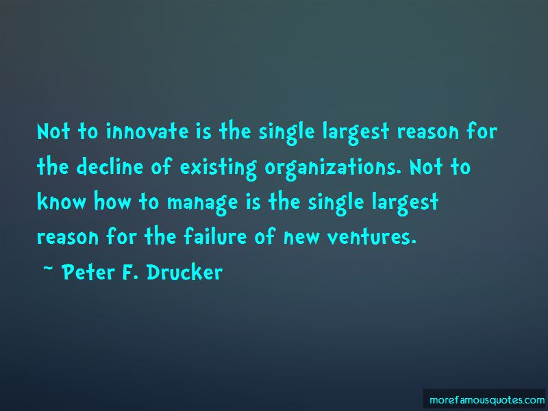 Failure To Innovate Quotes