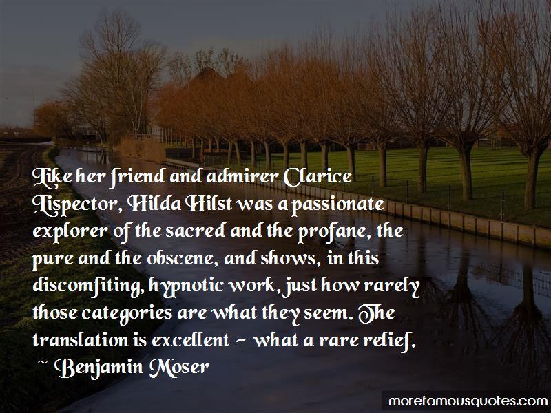 Hilda Hilst Quotes