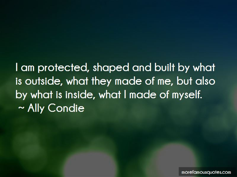 I Am Protected Quotes Pictures 3