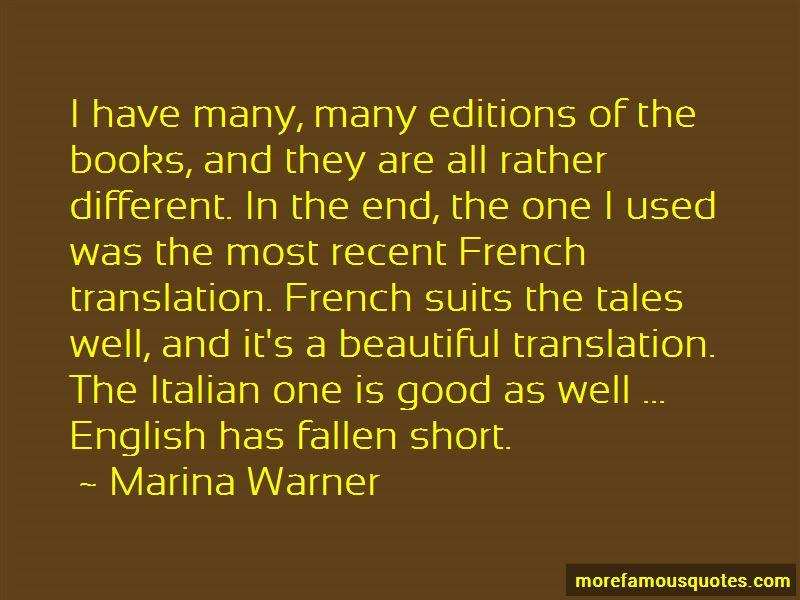 Italian To English Translation Quotes