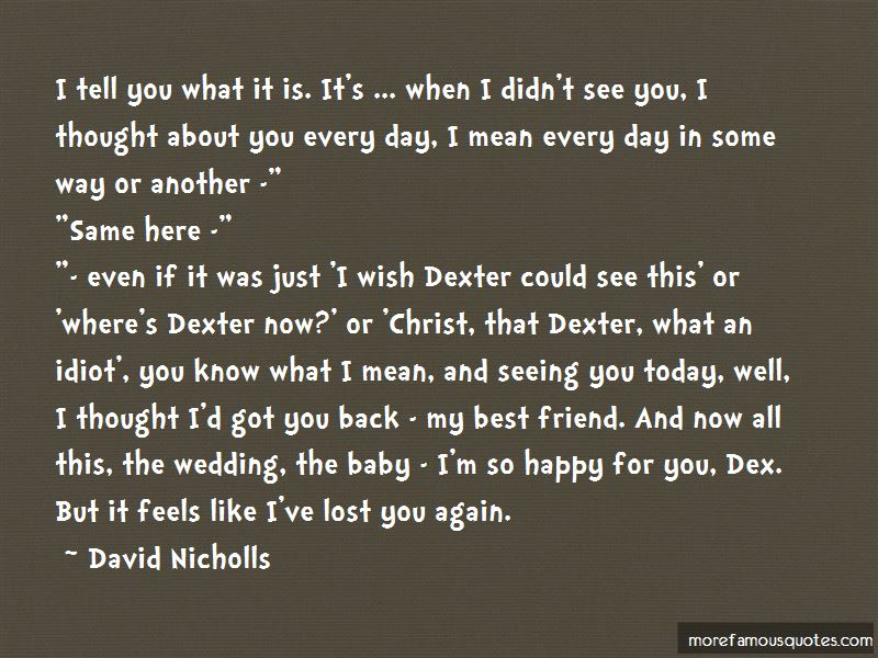 I've Lost You Quotes