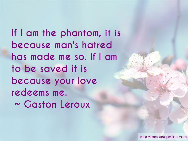 Love Redeems Quotes