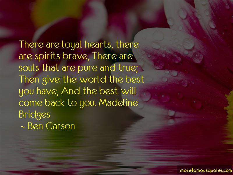 Madeline Bridges Quotes