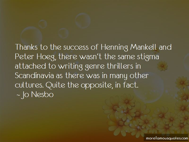 Mankell Quotes