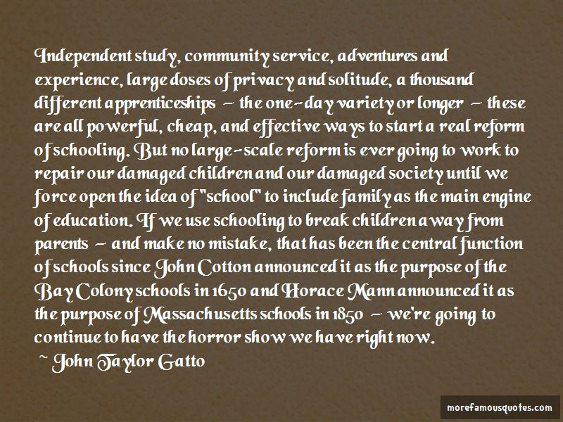 Purpose Of Schooling Quotes Pictures 2