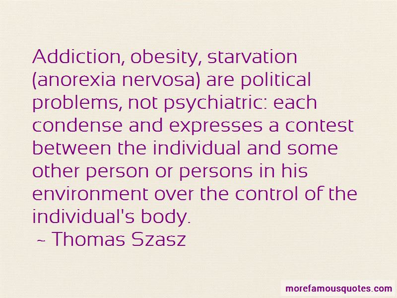 Quotes About Anorexia And Obesity
