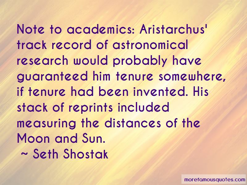 Quotes About Aristarchus