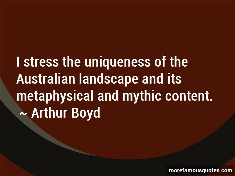 Quotes About Australian Landscape