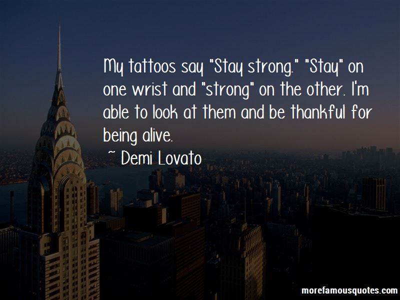 Quotes About Being Strong Tattoos top 1 Being Strong ...