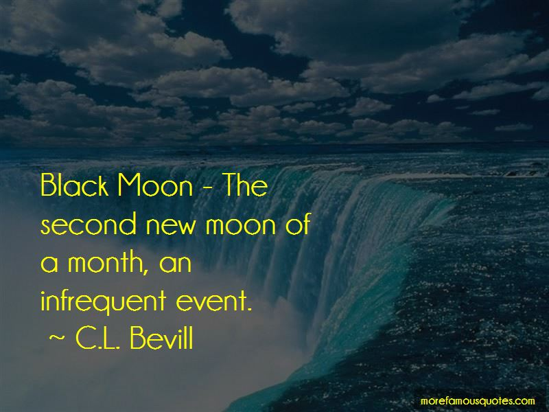 Quotes About Black Moon
