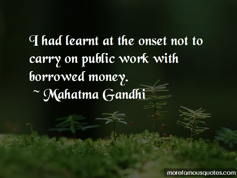 Borrowed Money Quotes Pictures 2