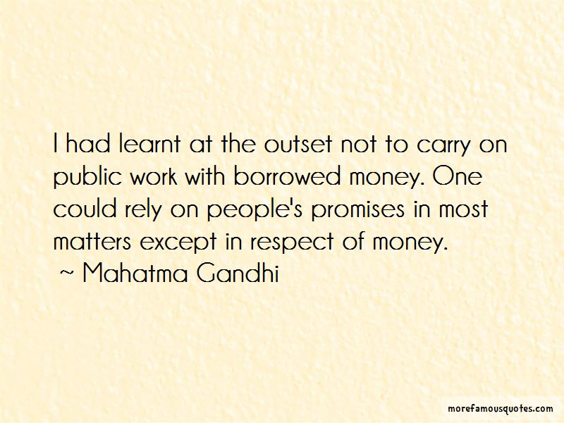 Borrowed Money Quotes Pictures 3
