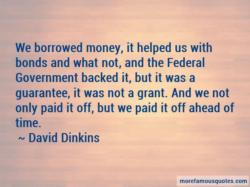 Quotes About Borrowed Money