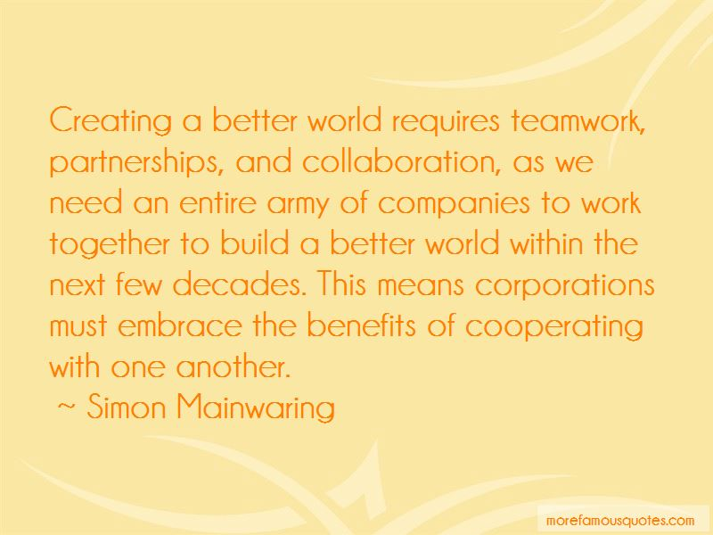 Collaboration And Teamwork Quotes Pictures 3