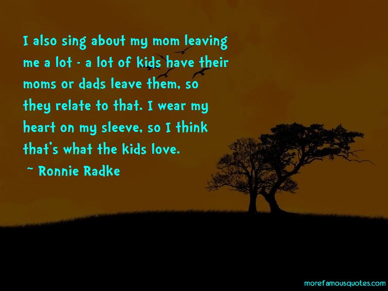 Quotes About Dads Leaving