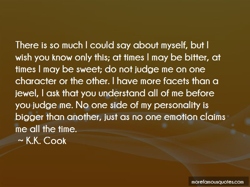 Quotes About Do Not Judge Me