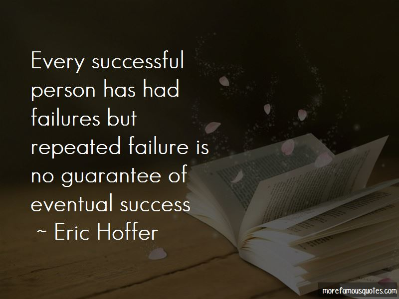 Quotes About Eventual Success