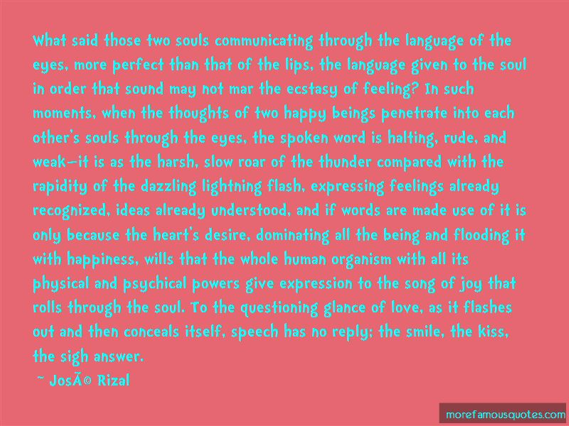 Quotes About Expressing Feelings